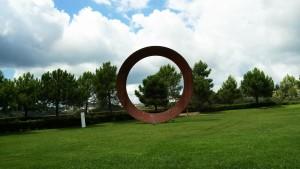 cerchio nel paesaggio